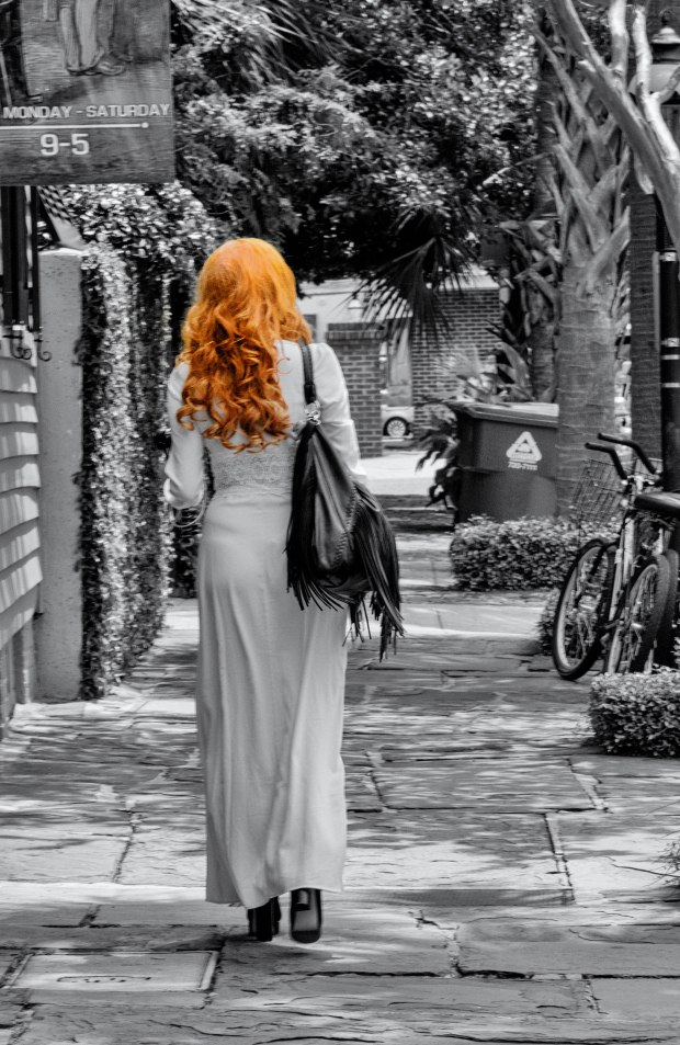 Woman With Red Hair-Charleston,SC